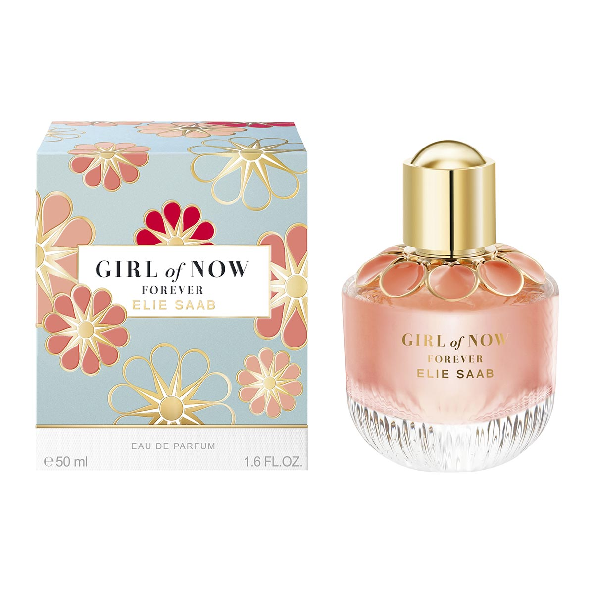 Elie saab girl of now forever eau de parfum 50ml vaporizador