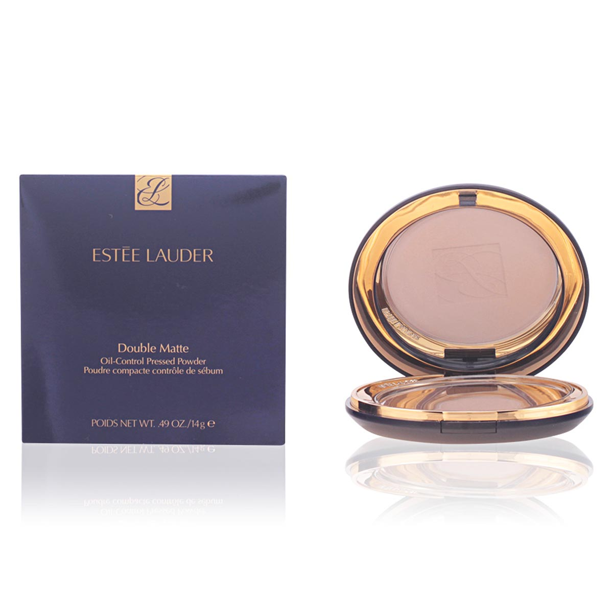 Estee lauder double matte oil control pressed powder 02