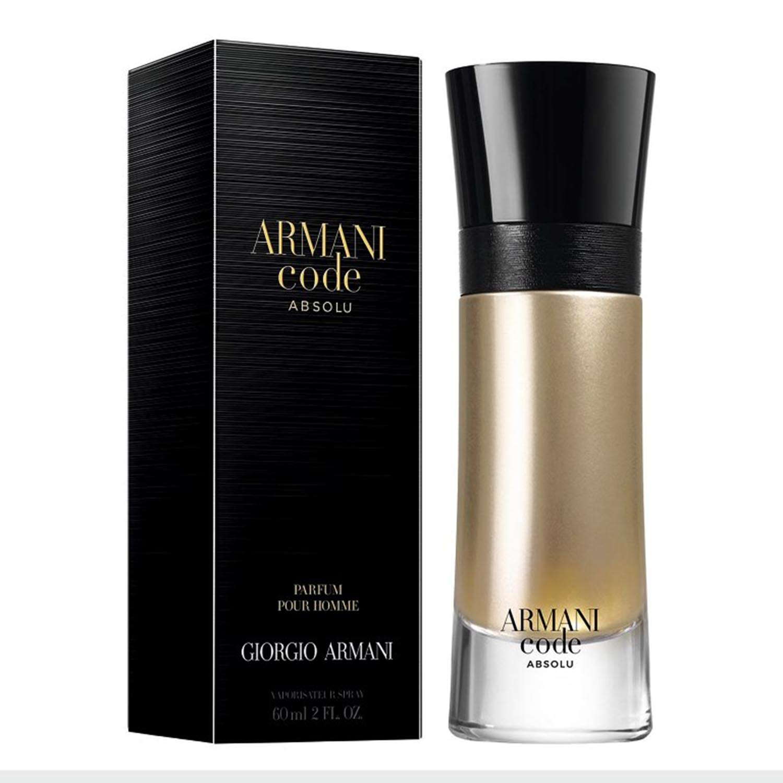 Giorgio armani code absolu parfum pour homme 60ml vaporizador