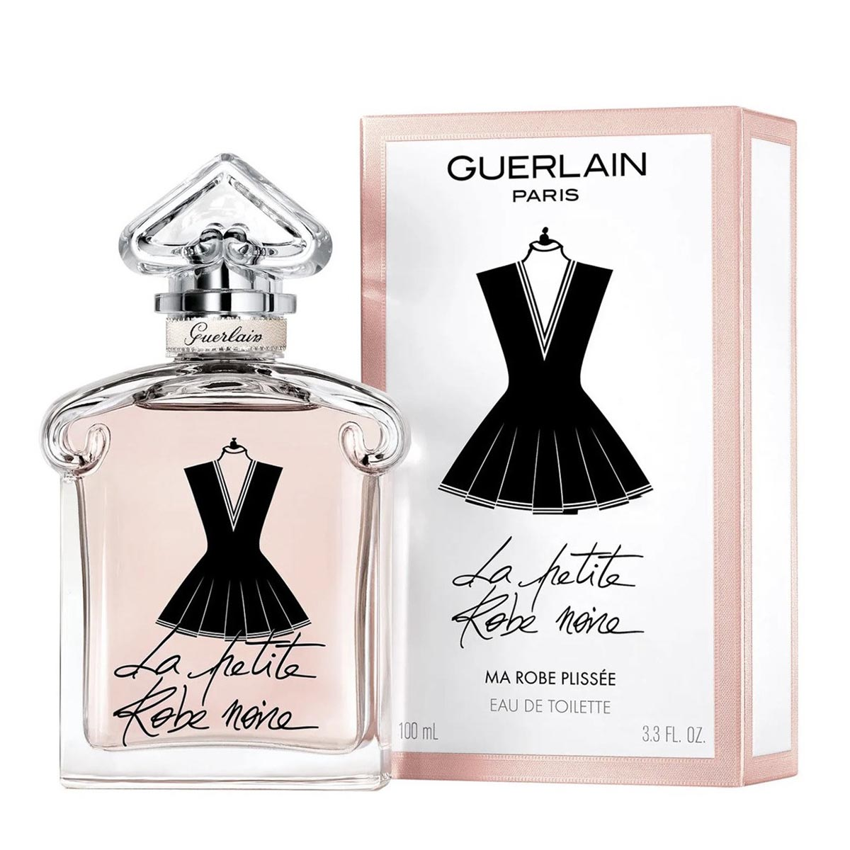 Guerlain la petit robe noire plissee eau de toilette 100ml vaporizador