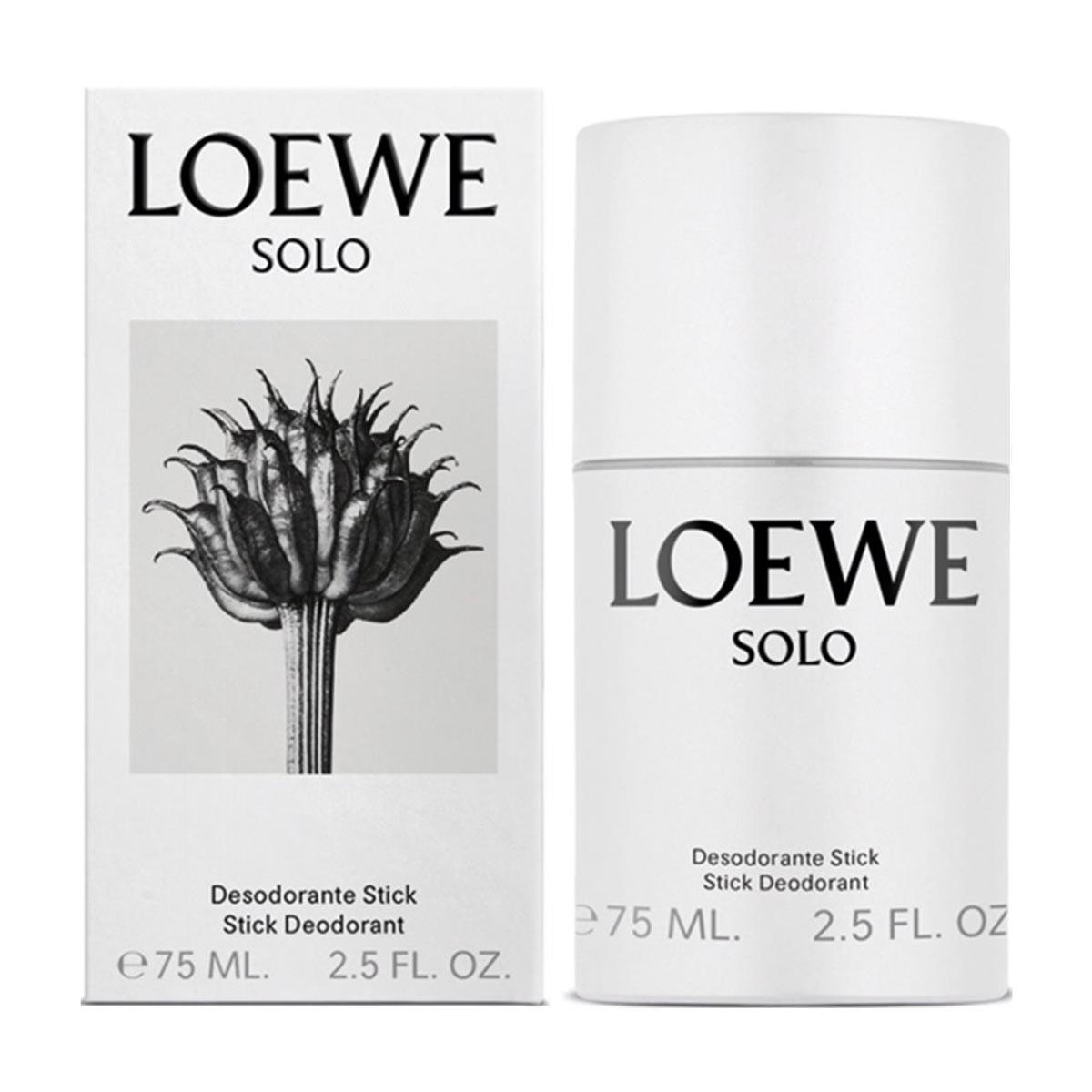 Loewe solo desodorante stick 75ml