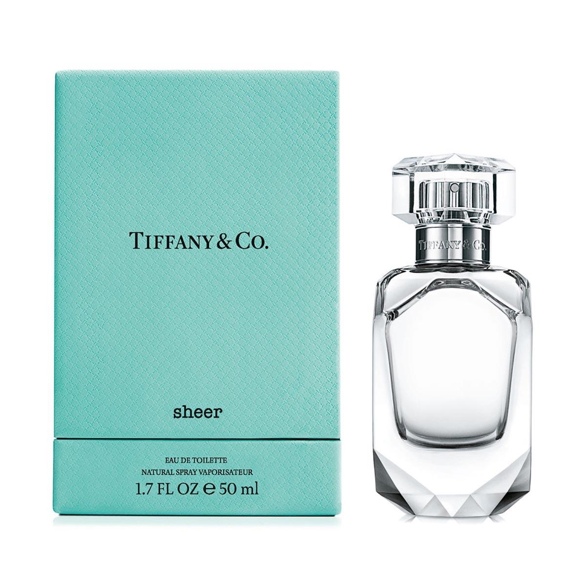Tiffany s sheer eau de toilette 50ml vaporizador