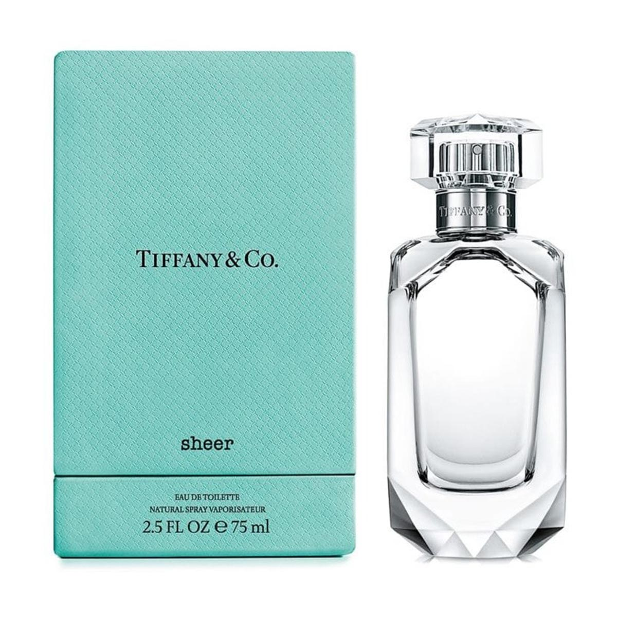 Tiffany s sheer eau de toilette 75ml vaporizador