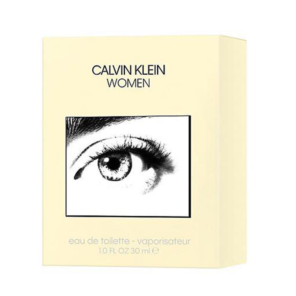 Calvin klein women eau de toilette 30ml vaporizador