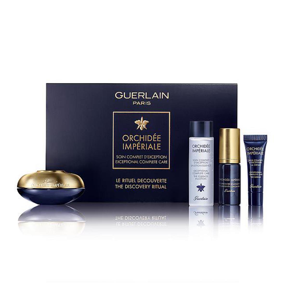 Guerlain orchidee imperiale 4g eye cream 15ml essence lotion 15ml concentrate 5ml eye cream 3ml