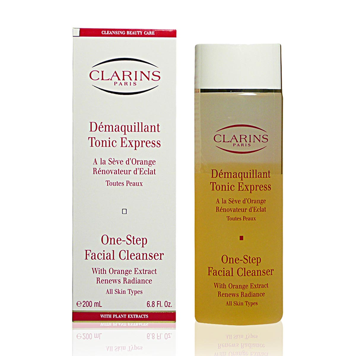 Clarins tonic express demaquillant all skins 200ml