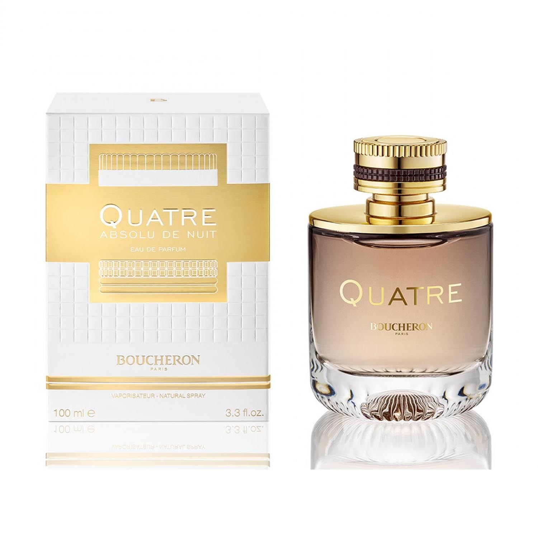 Boucheron quatre absolu de nuit eau de parfum femme 50ml vaporizador