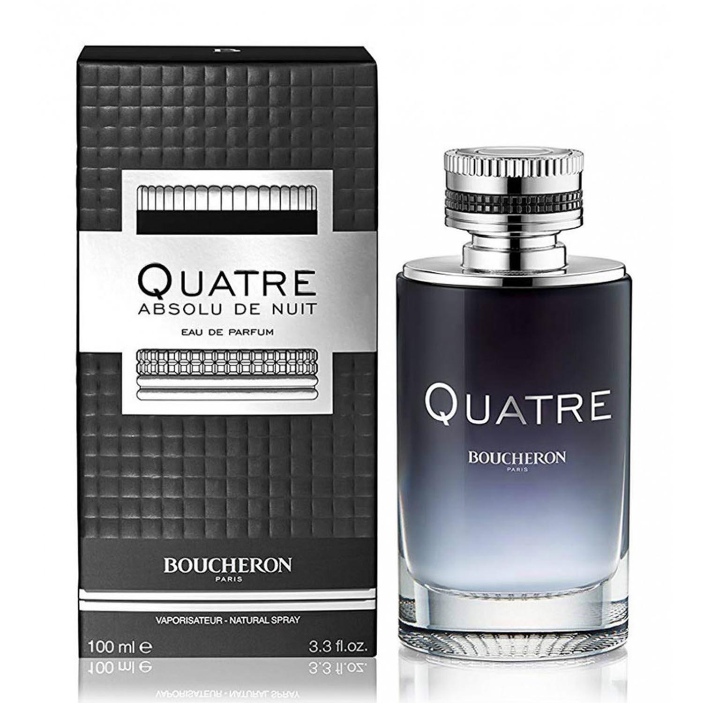 Boucheron quatre absolu de nuit eau de parfum homme 50ml vaporizador