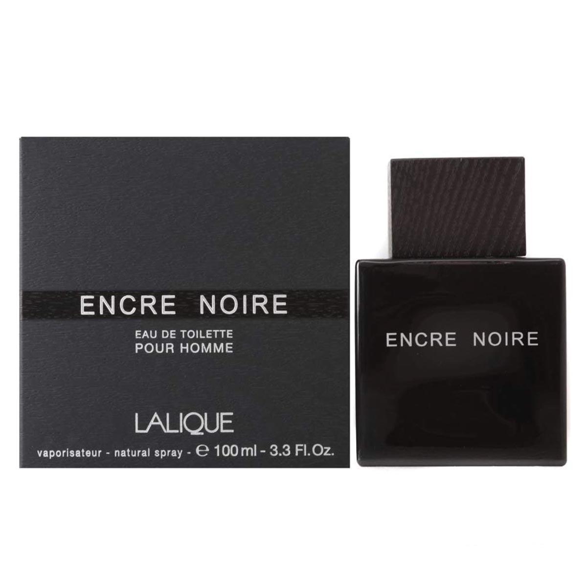 Lalique encre noir homme eau de toilette 100ml