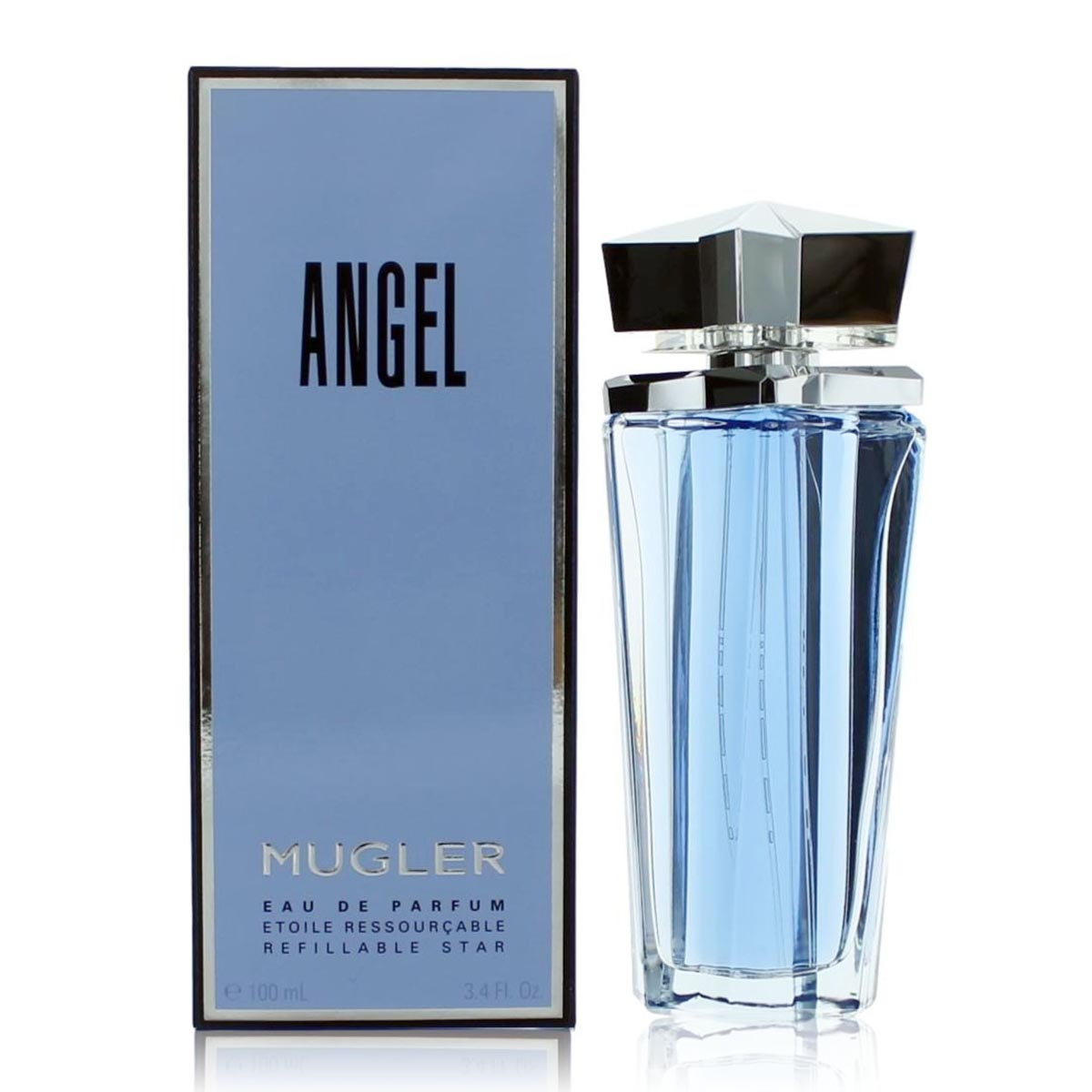Thierry mugler angel eau de toilette 50ml vaporizador refillable