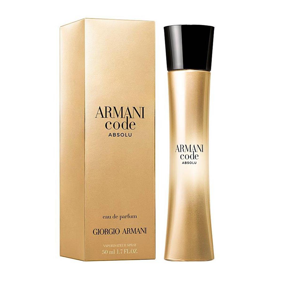 Giorgio armani code absolu eau de parfum 50ml vaporizador