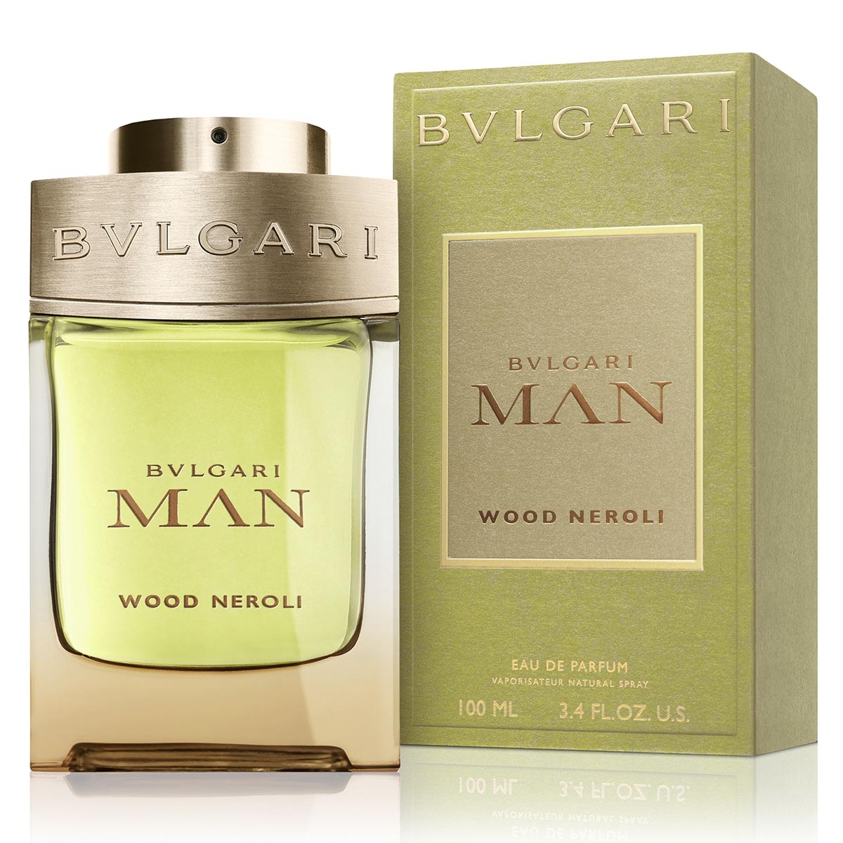 Bvlgari man wood neroli eau de parfum 100ml vaporizador