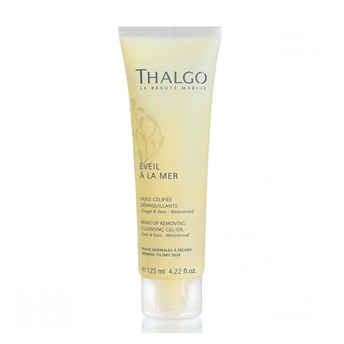 Thalgo eveil a la mer makeup removing cleansing gel oil 125ml