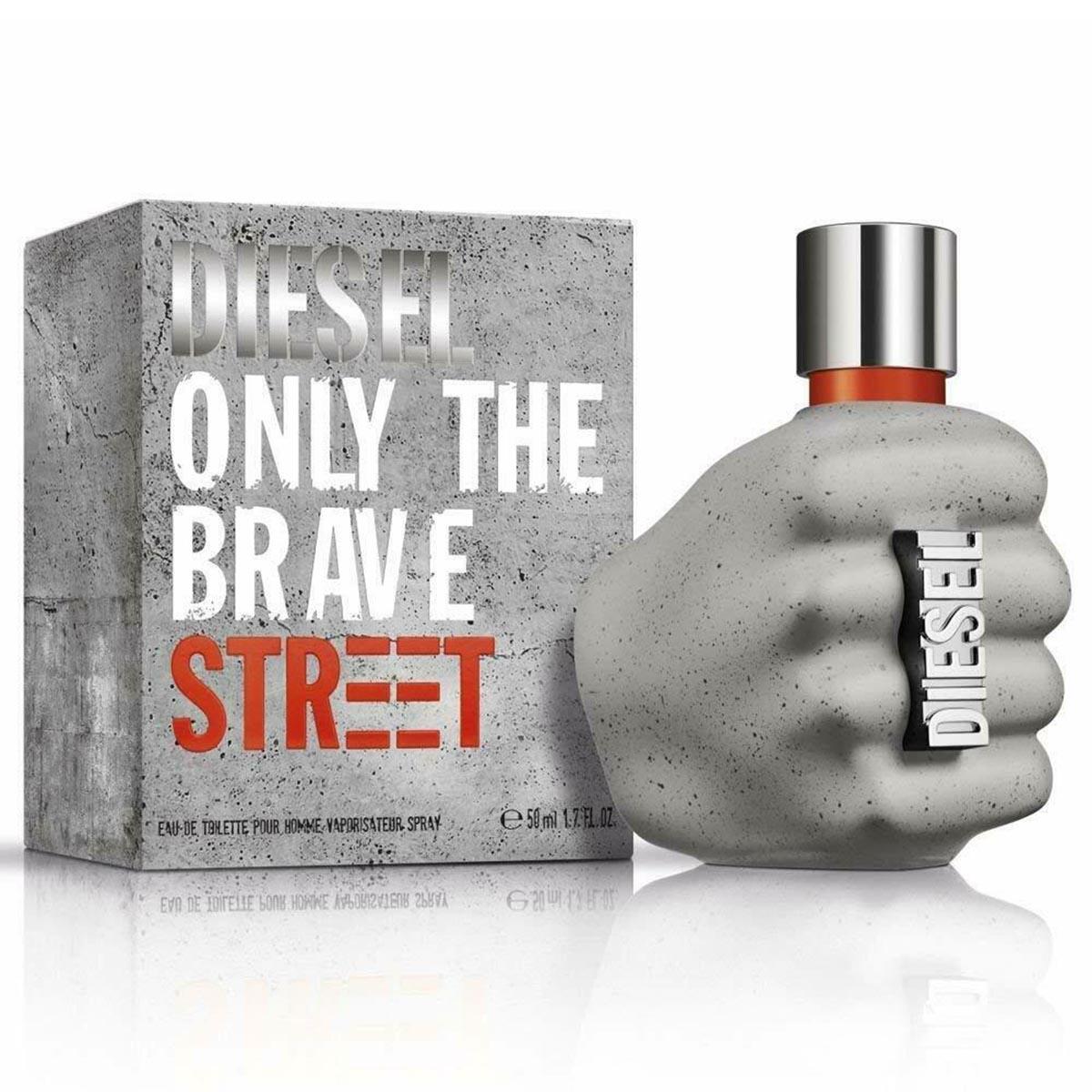 Diesel only the brave street eau de toilette pour homme 50ml vaporizador