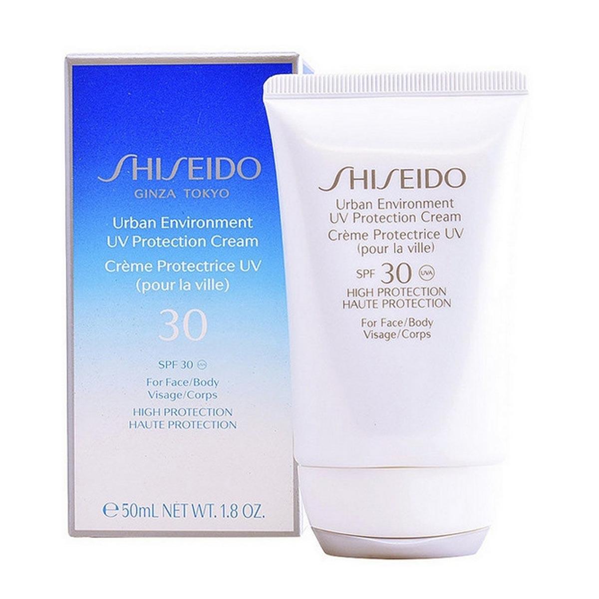 Shiseido urban environment uv protection cream spf30 50ml