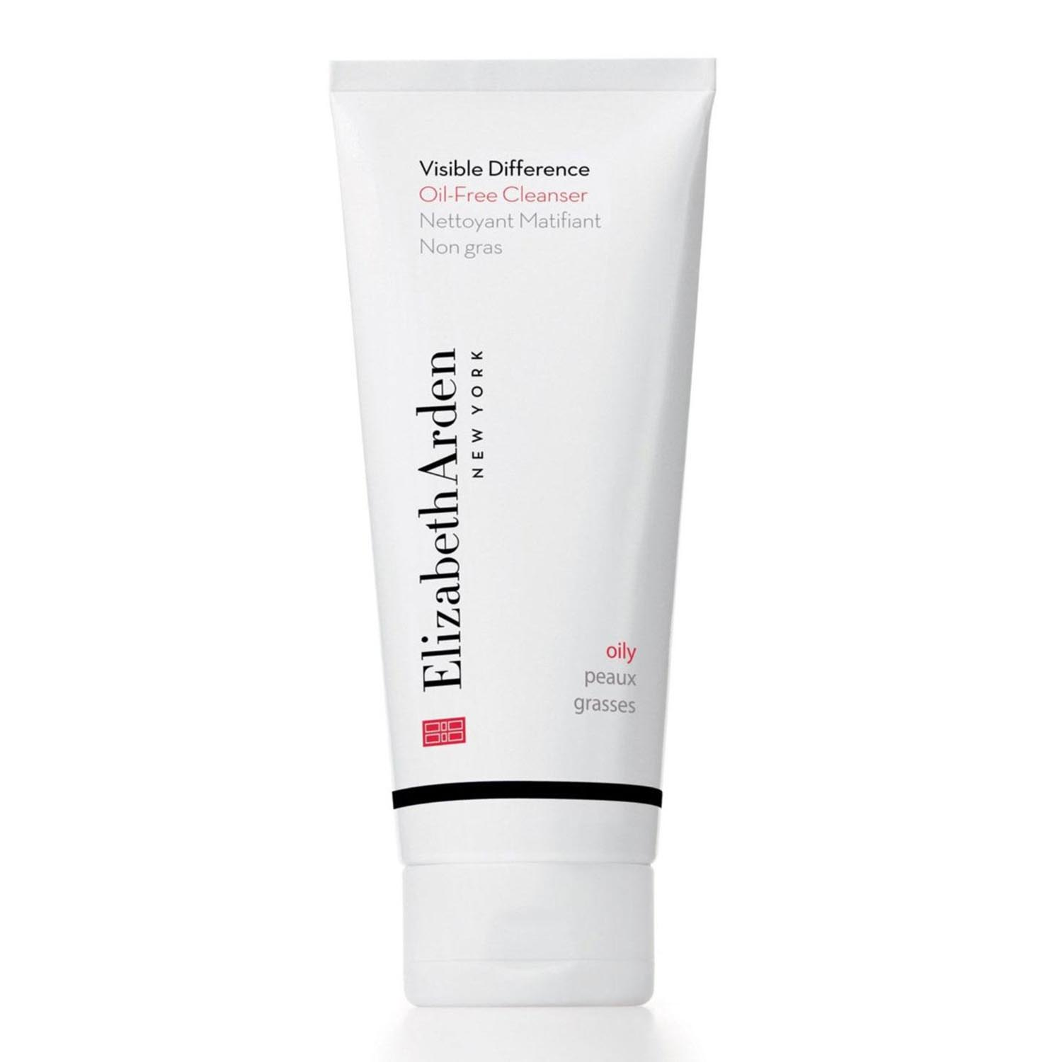Elizabeth arden visible difference oil free cleanser oily skin tester 150ml