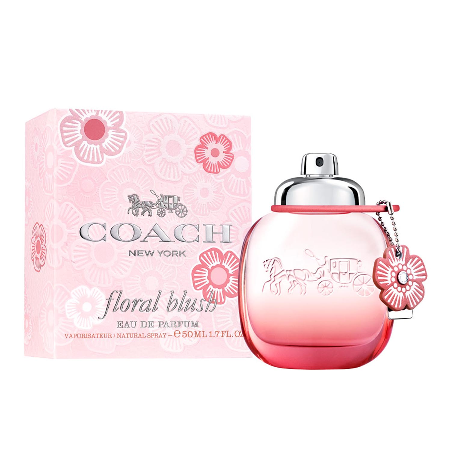 Coach new york floral blush eau de parfum 50ml