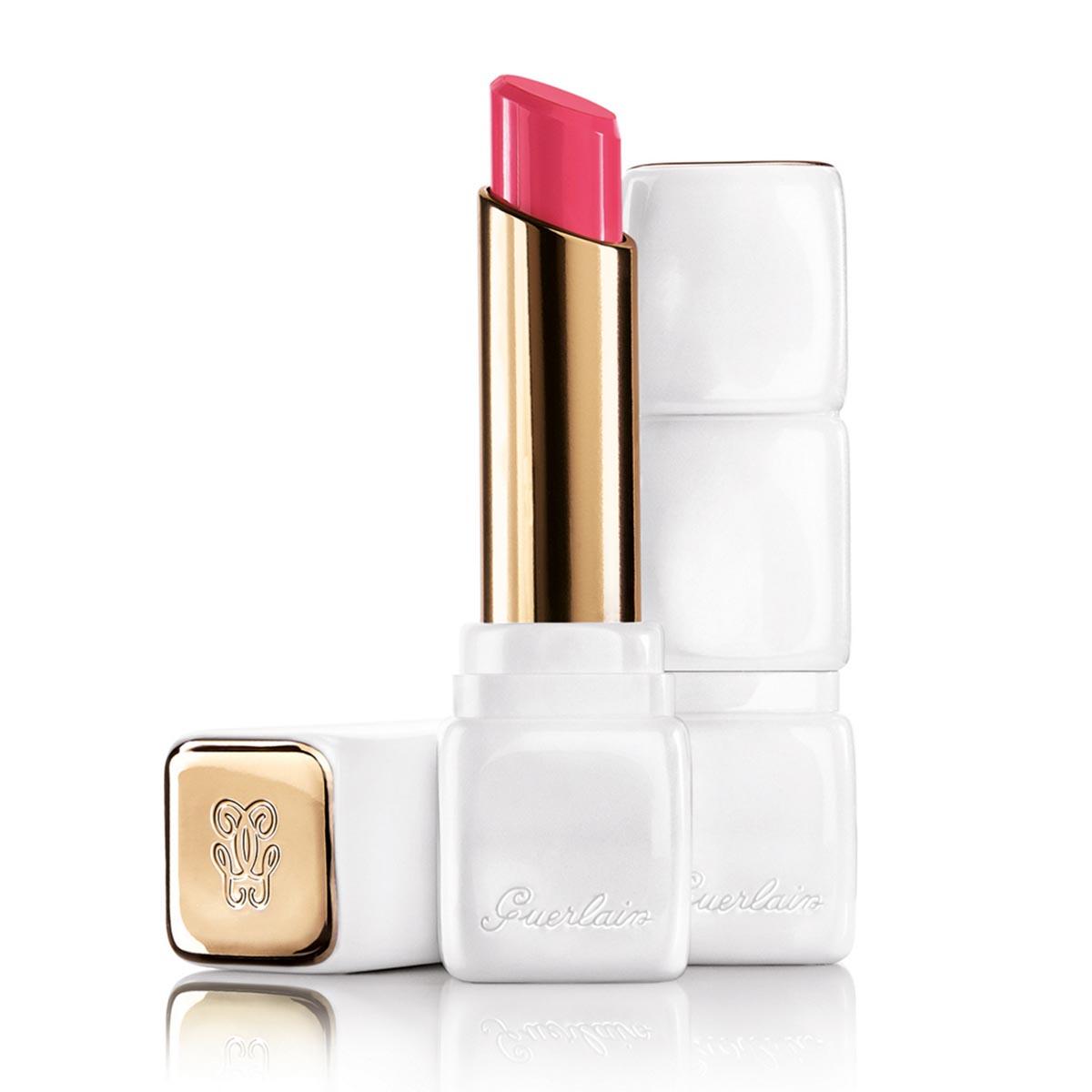 Guerlain kiss kiss matte lipstick r375 flush noon