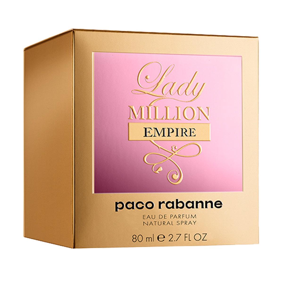 Paco rabanne lady million empire eau de parfum 80ml vaporizador