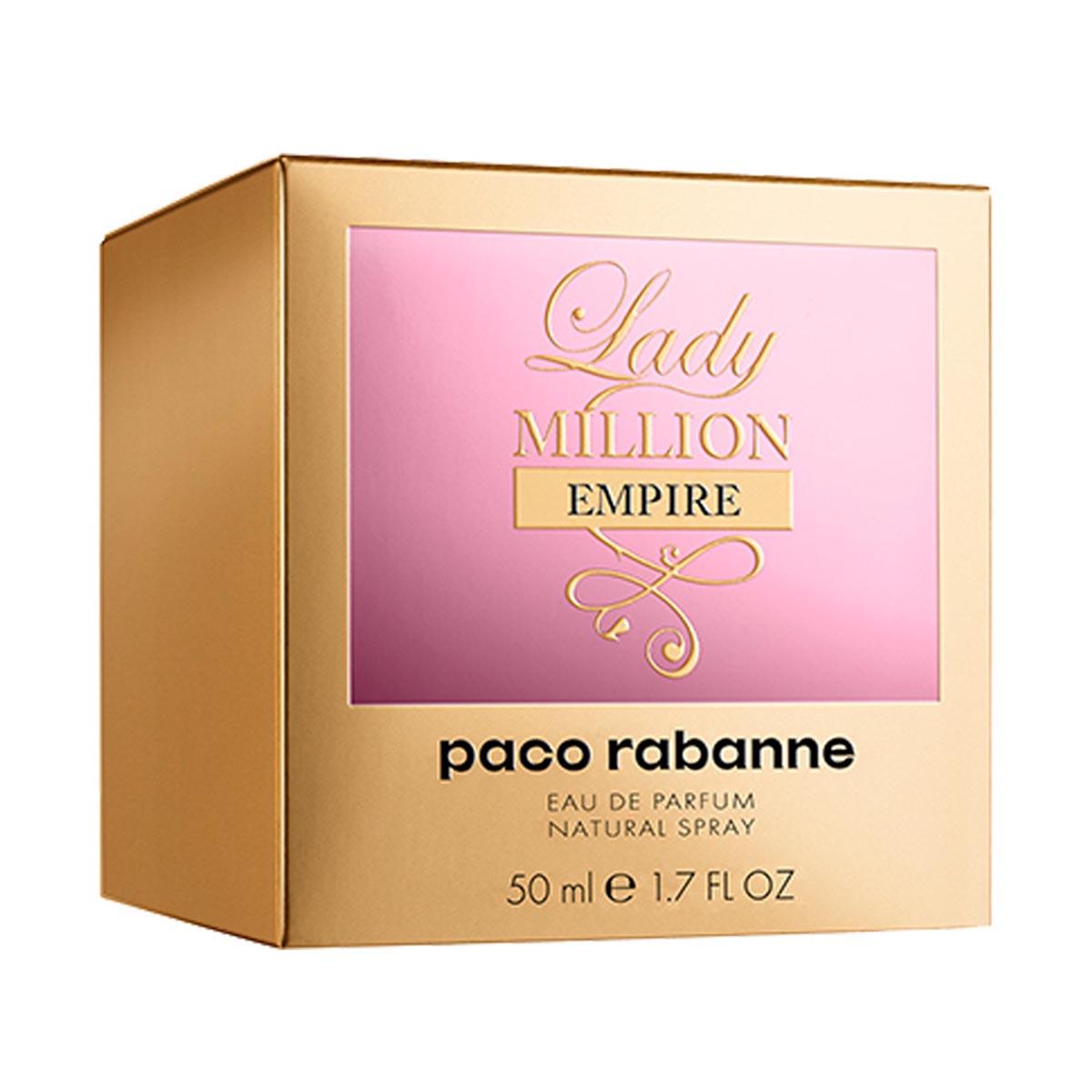 Paco rabanne lady million empire eau de parfum 50ml vaporizador