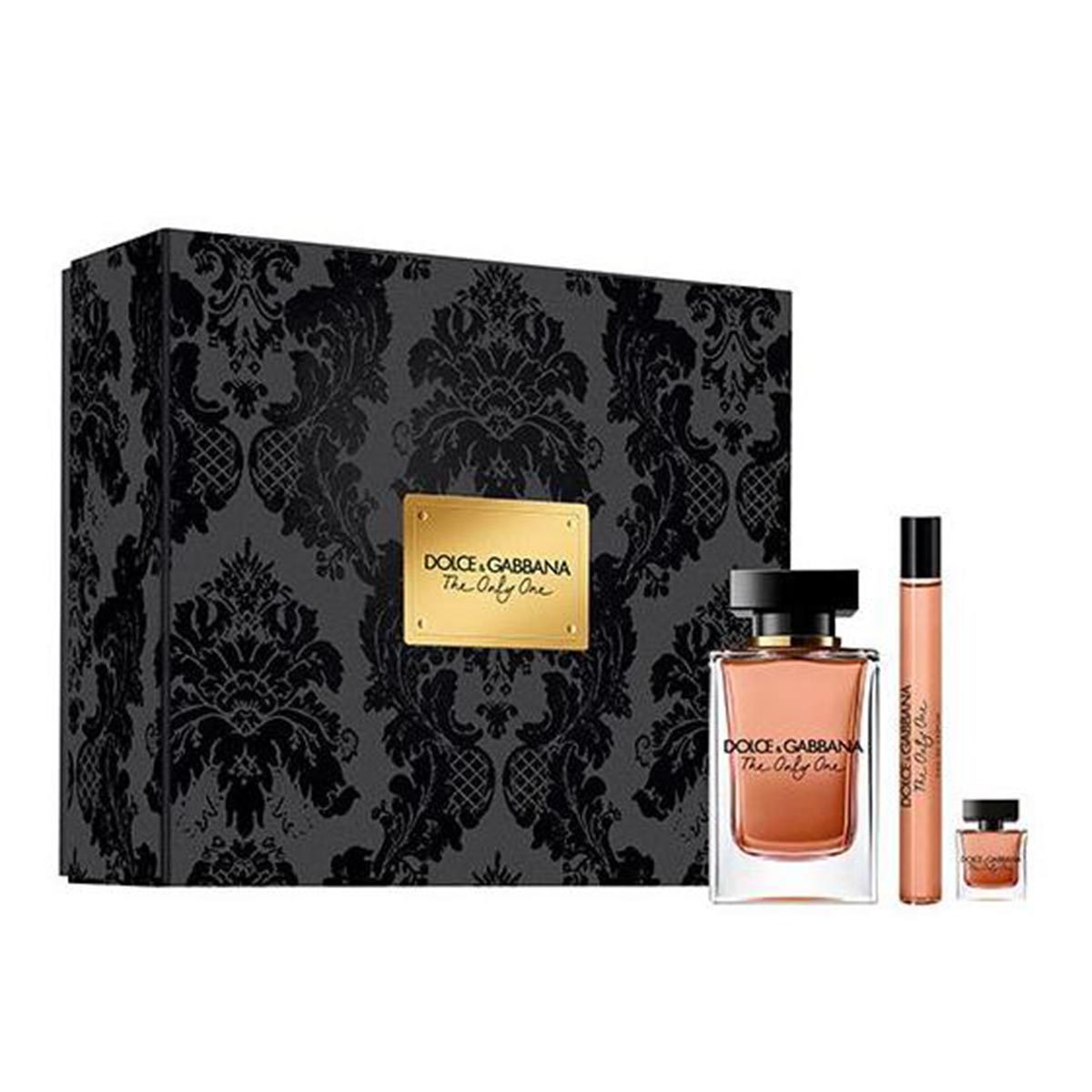 Dolce gabbana the one only eau de parfum 100ml vaporizador eau de parfum 10ml vaporizador miniatura 7 5ml