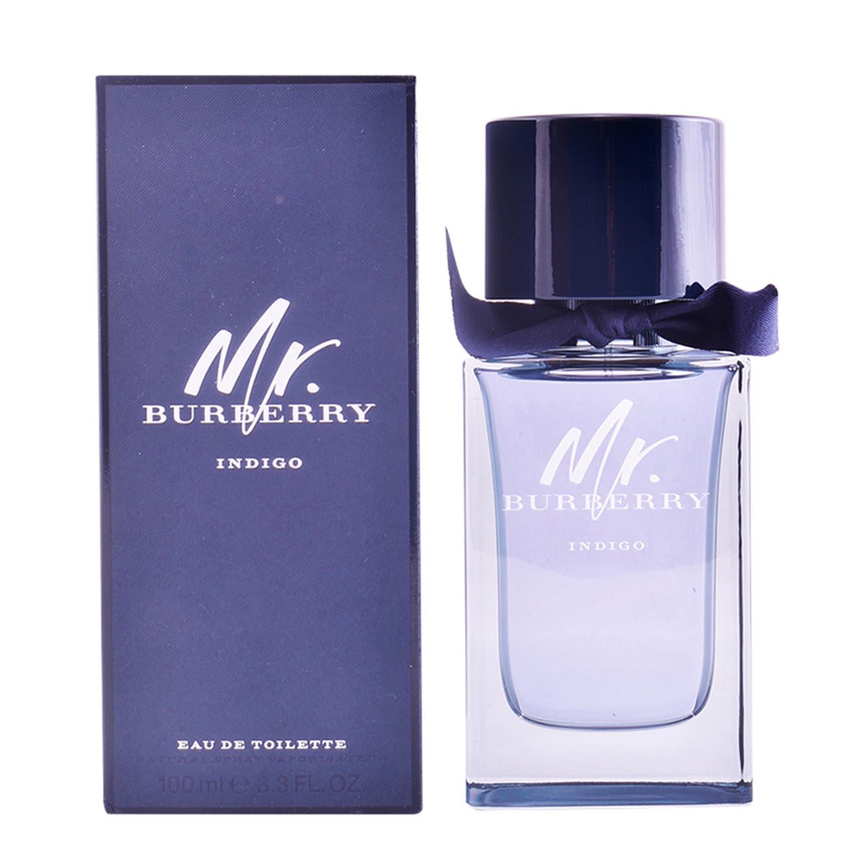 Burberry mr burberry indigo eau de toilette 100ml vaporizador
