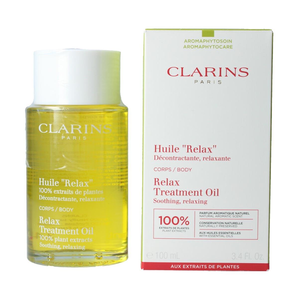 Clarins relax treatment oil 100ml