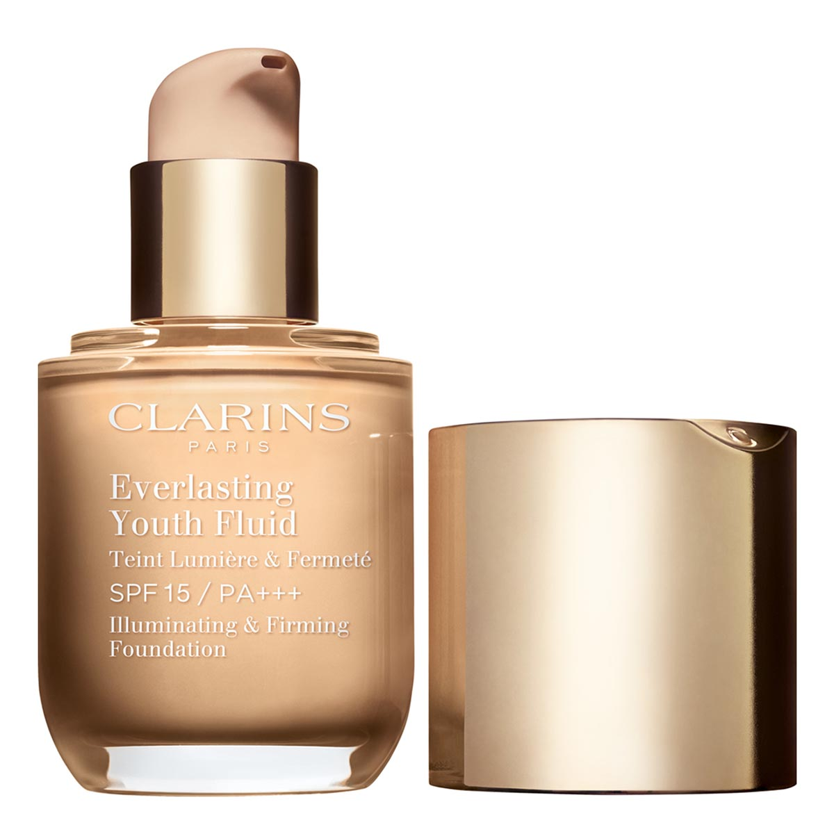 Clarins everlasting youth fluid spf15 112 amber