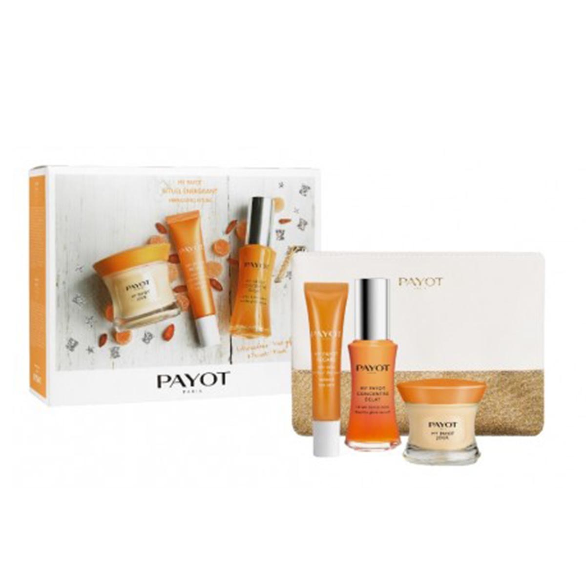 Payot my payot jour creme 50ml regard 15ml concentree 30ml neceser