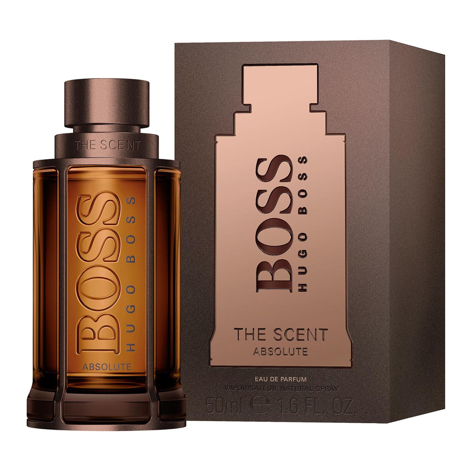 Hugo boss the scent absolute eau de parfum 50ml vaporizador