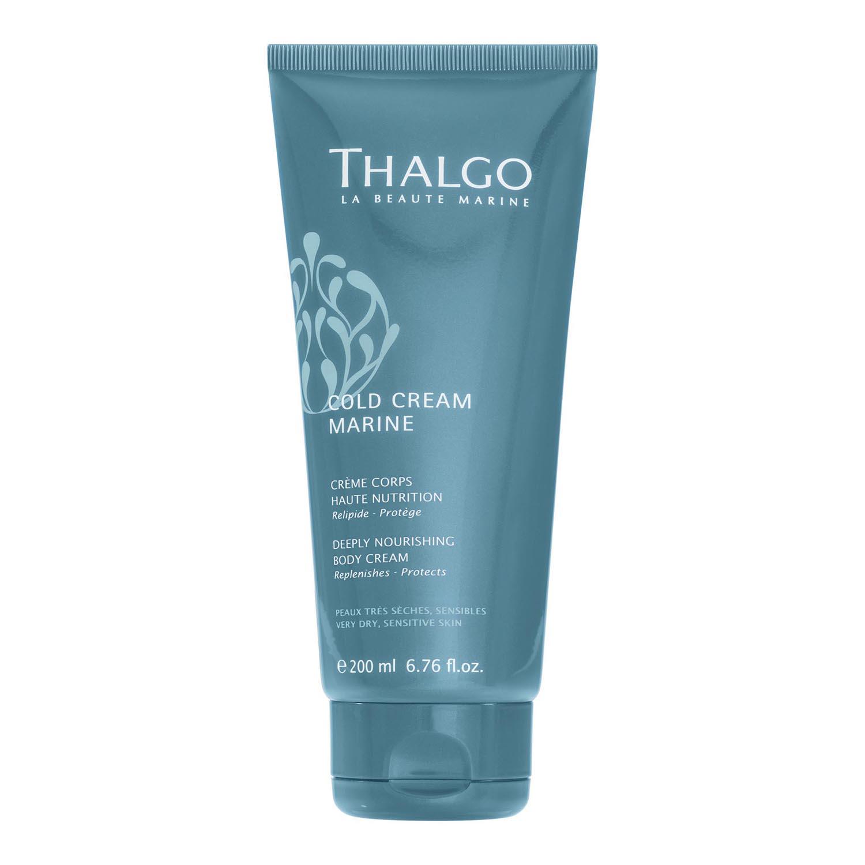 Thalgo cold cream marine deeply nourishing body very dry skin cream 200ml