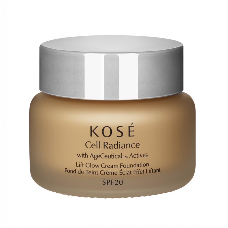 Kos cell radiance lift glow cream foundation 204 light tan