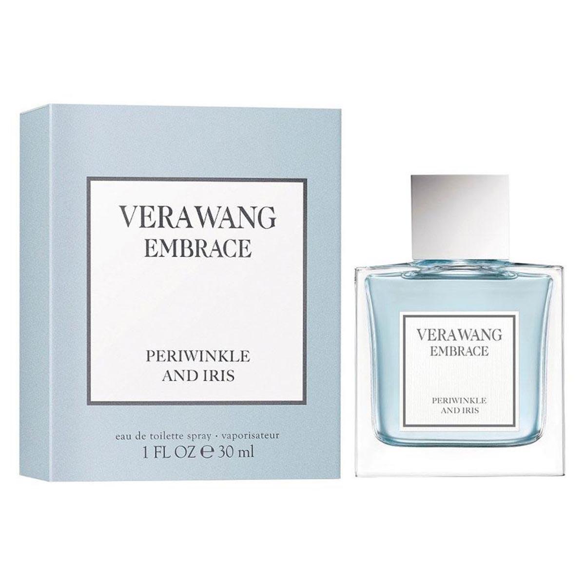 Vera wang embrace periwinkle and iris eau de toilette 30ml vaporizador