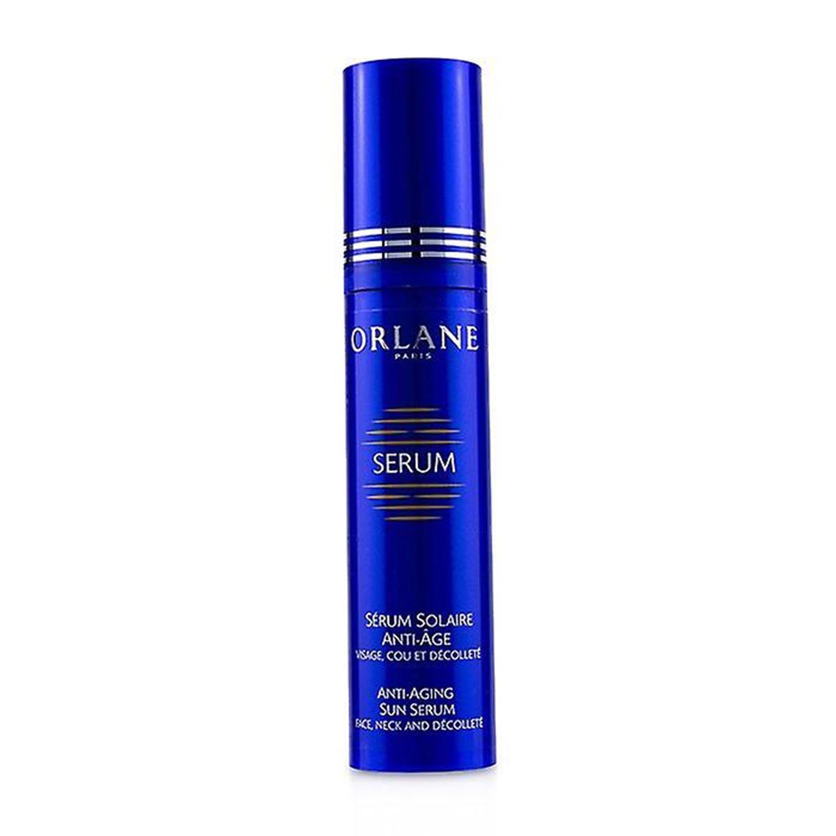 Orlane serum solaire anti age sun serum face neck and decollete 50ml