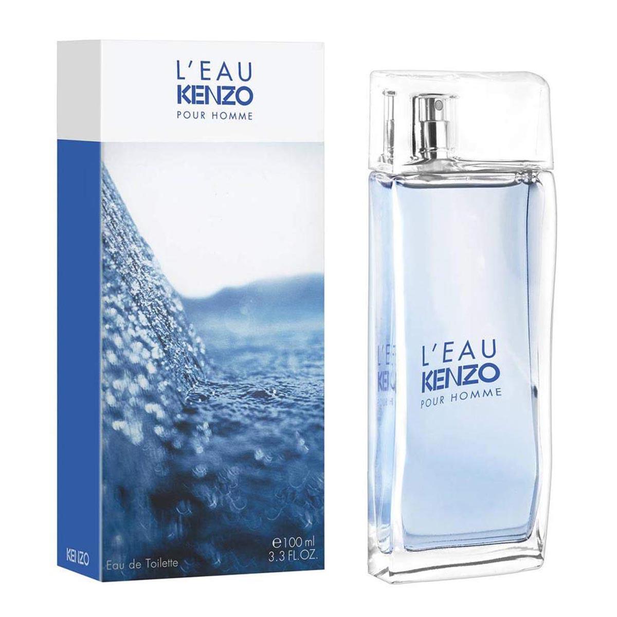 Kenzo l eau eau de toilette pour homme 100ml vaporizador
