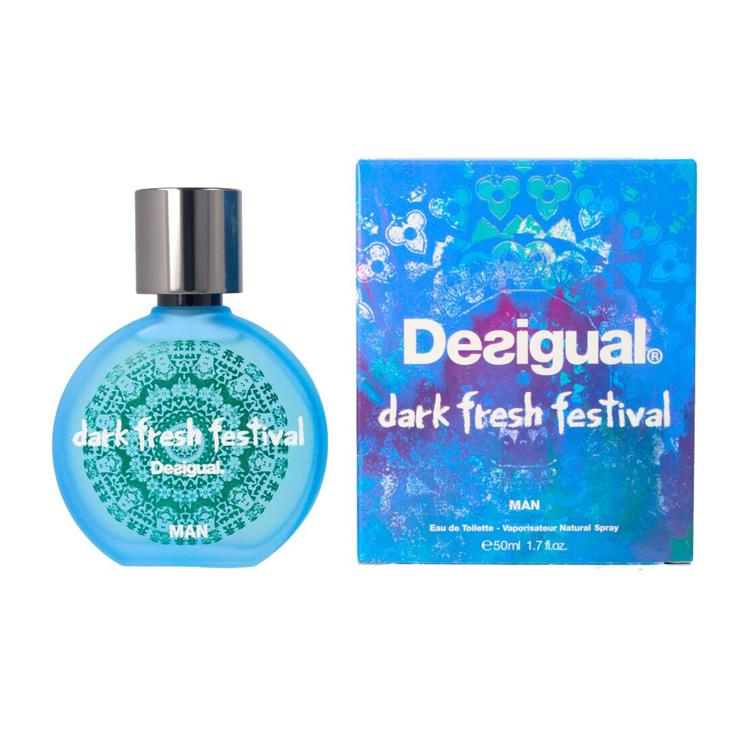 Desigual fresh festival men eau de toiletet 100ml vaporizador