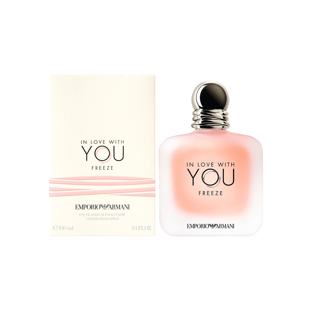 Emporio armani in love with you freeze eau de parfum 100ml vaporizador