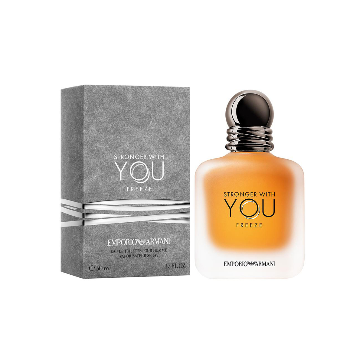 Emporio armani stronger with you freeze eau de toilette pour homme 50ml vaporizador