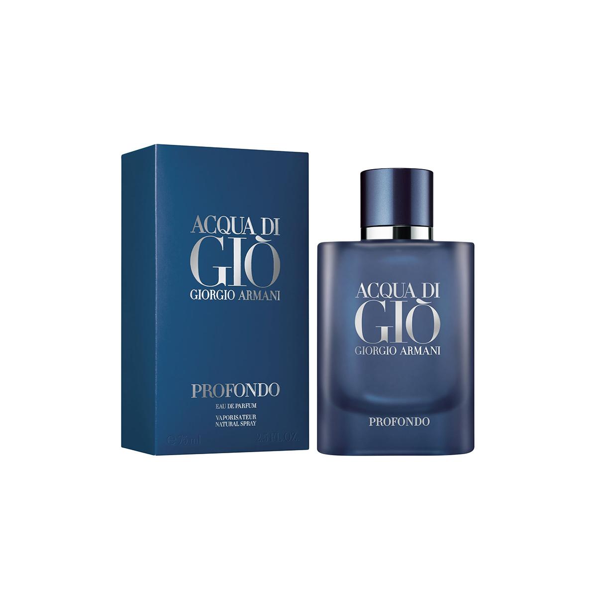 Giorgio armani acqua di gio profondo eau de parfum 75ml vaporizador