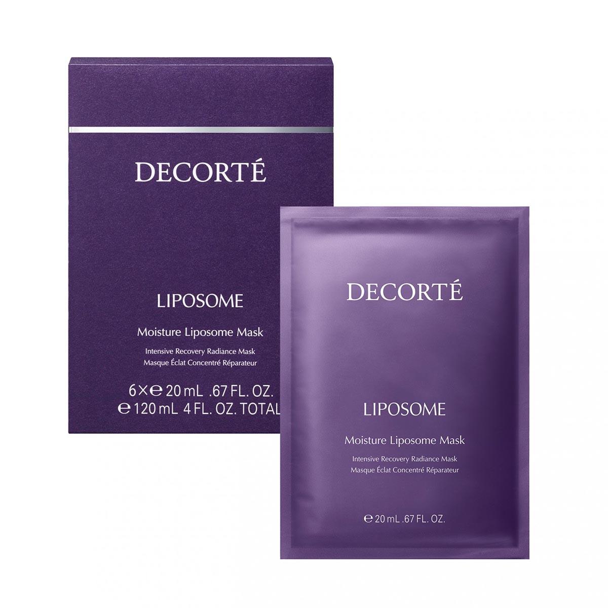 Decorte liposome moisturizing mask 20x6ml
