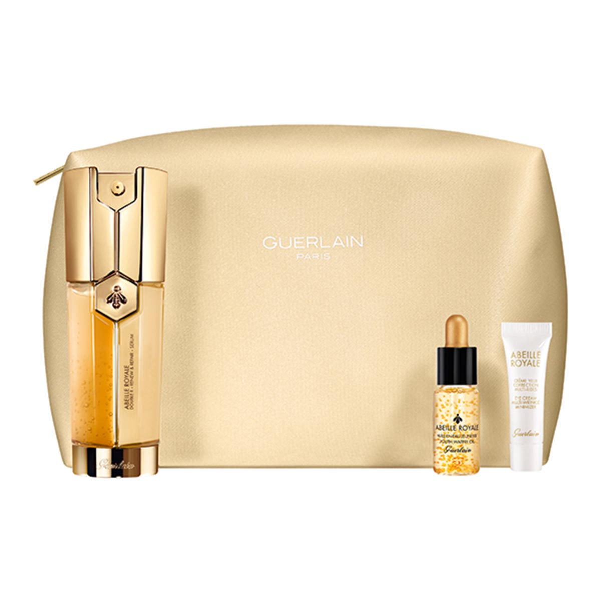 Guerlain abeille royale double r serum 30ml oil 5ml iluminador 5ml