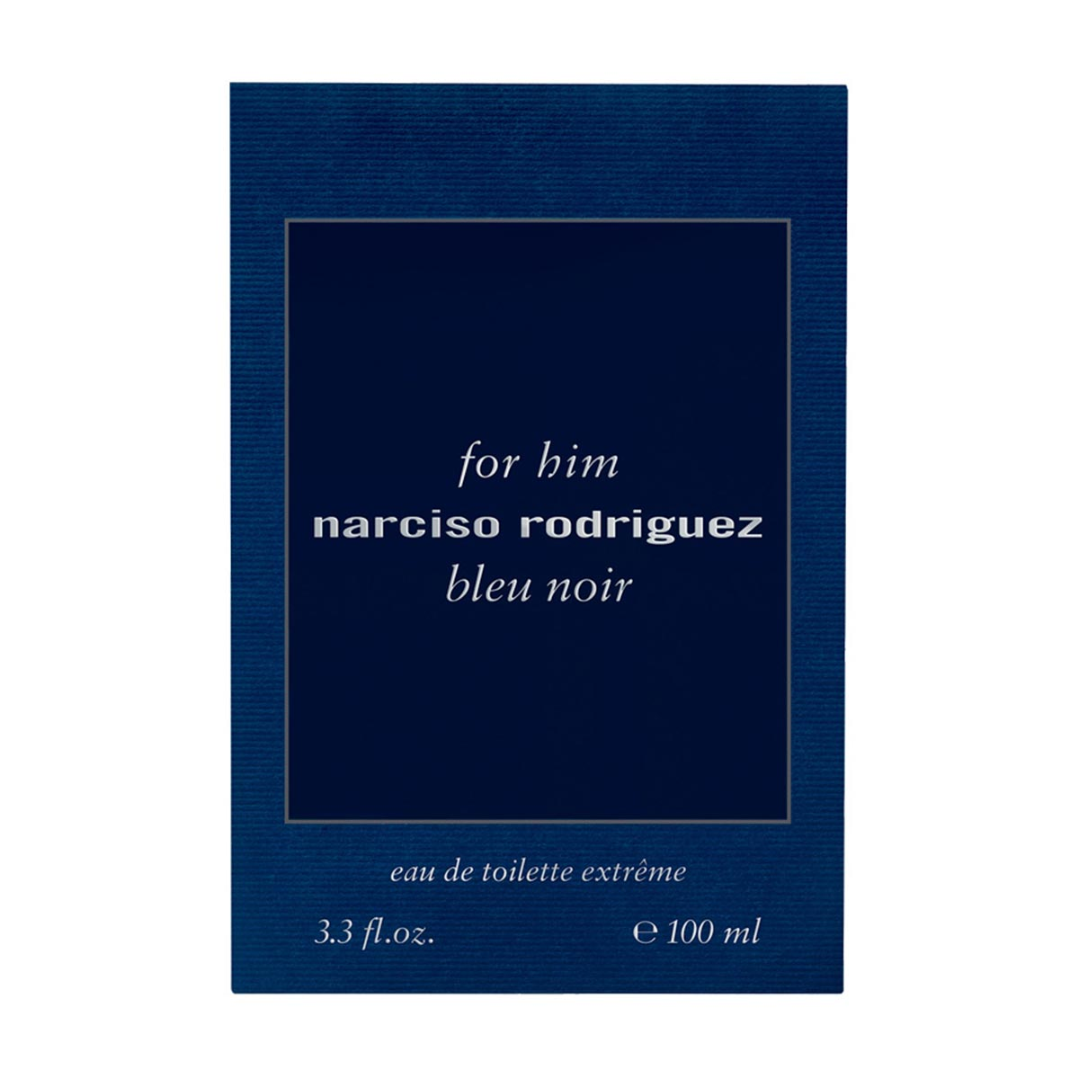 Narciso rodriguez for him bleu noir eau de toilette extreme 100ml vaporizador