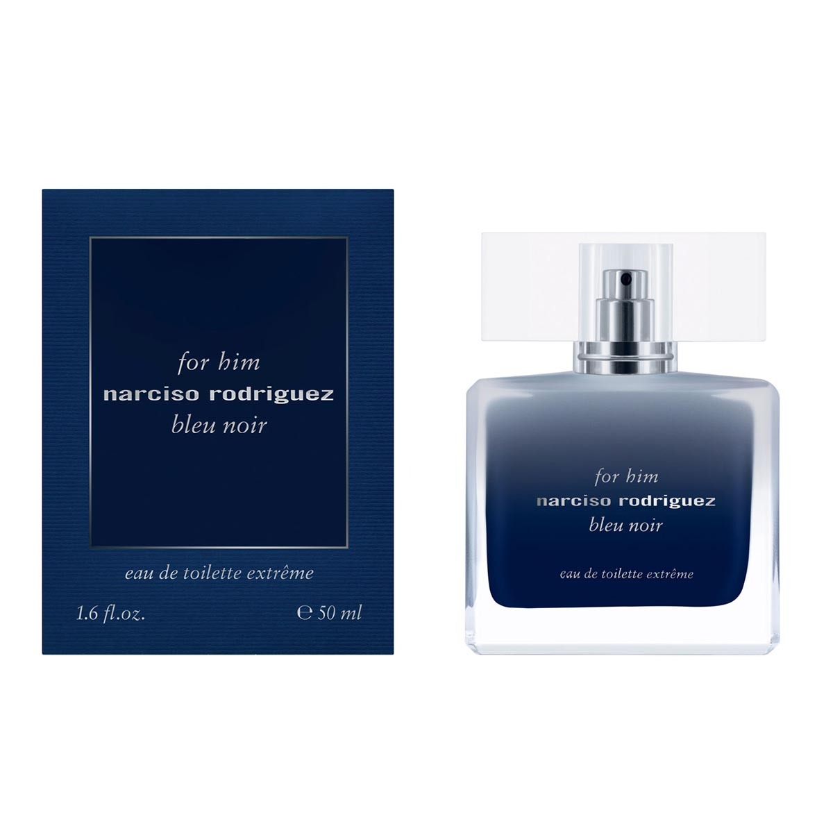 Narciso rodriguez for him bleu noir eau de toilette extreme 50ml vaporizador
