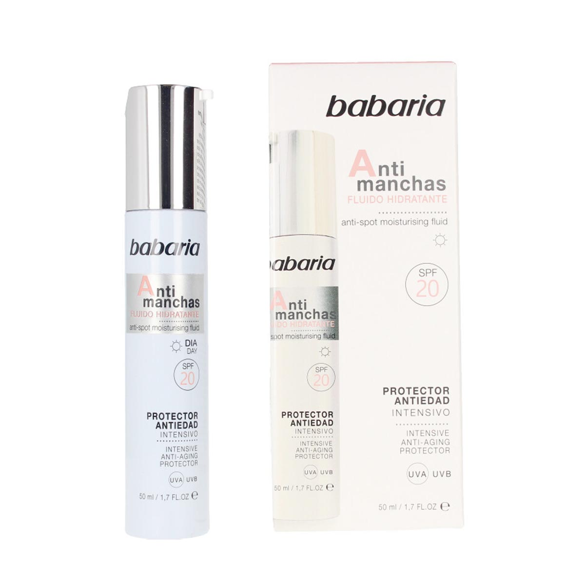 Babaria cara fluido anti manchas intensivo 50ml