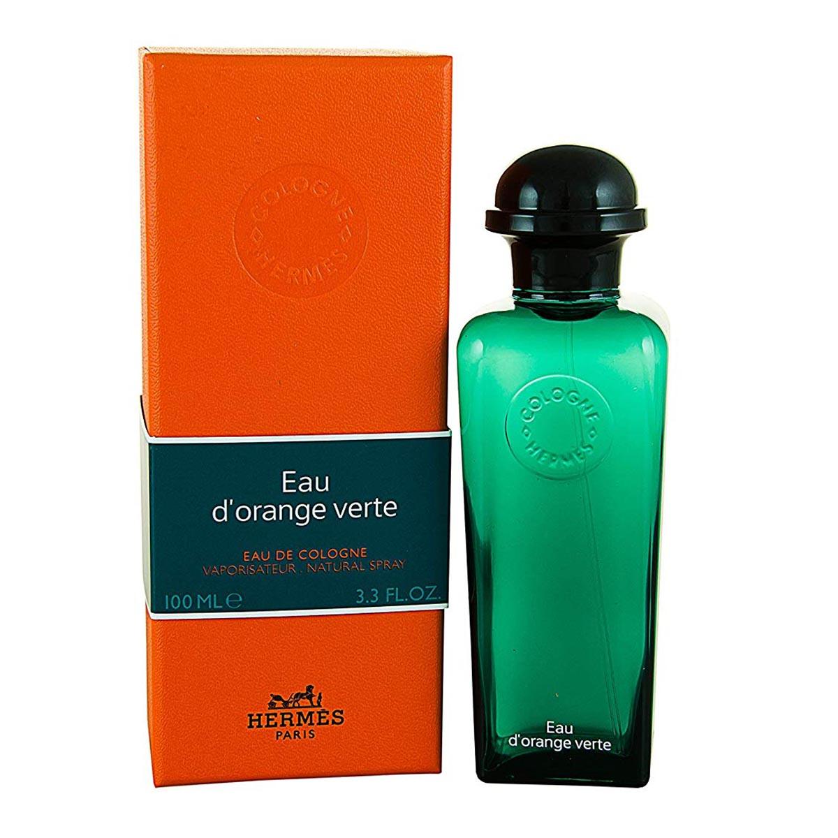 Hermes eau d orange verte eau de cologne 100ml vaporizador