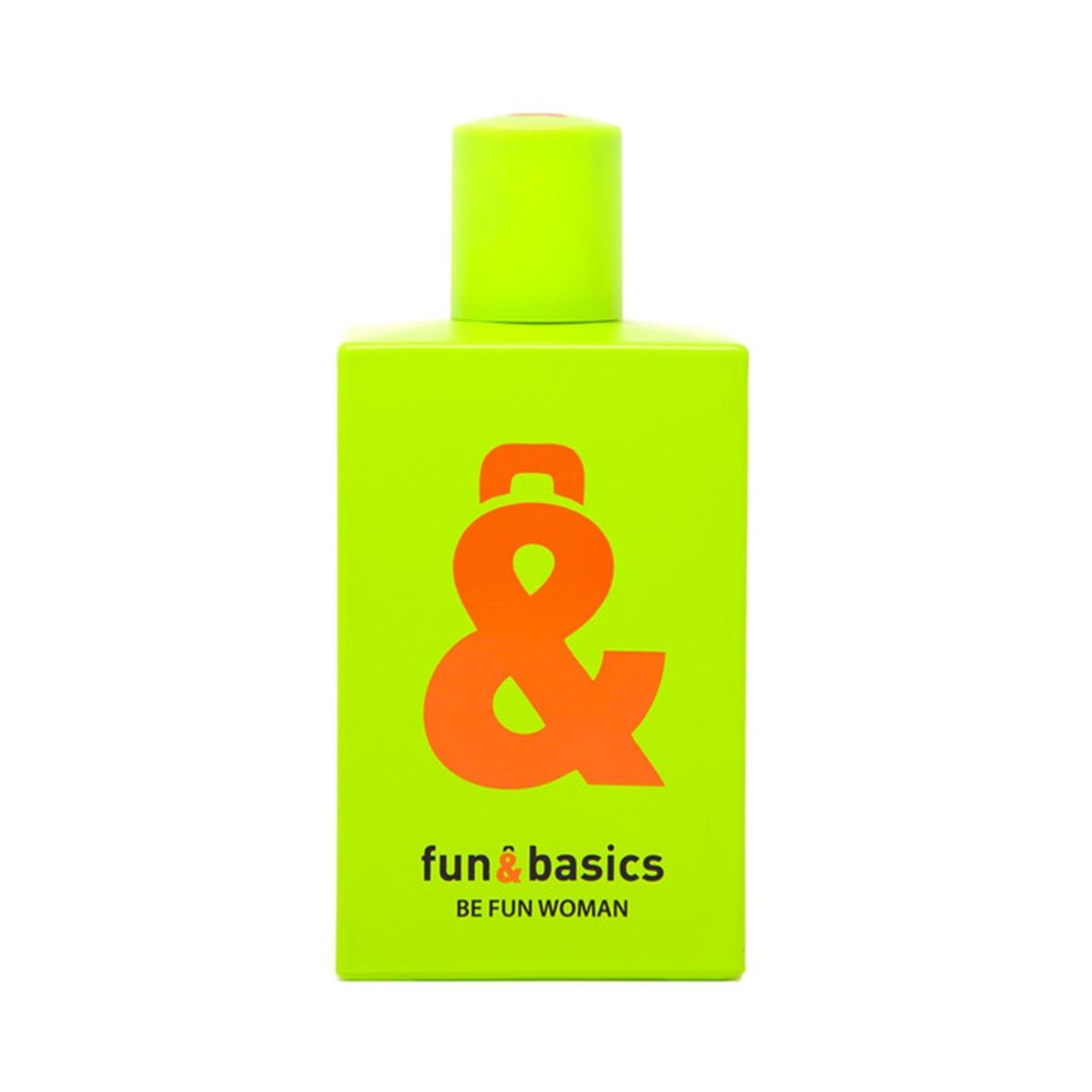 Fun basics be fun woman eau de toilette 100ml vaporizador
