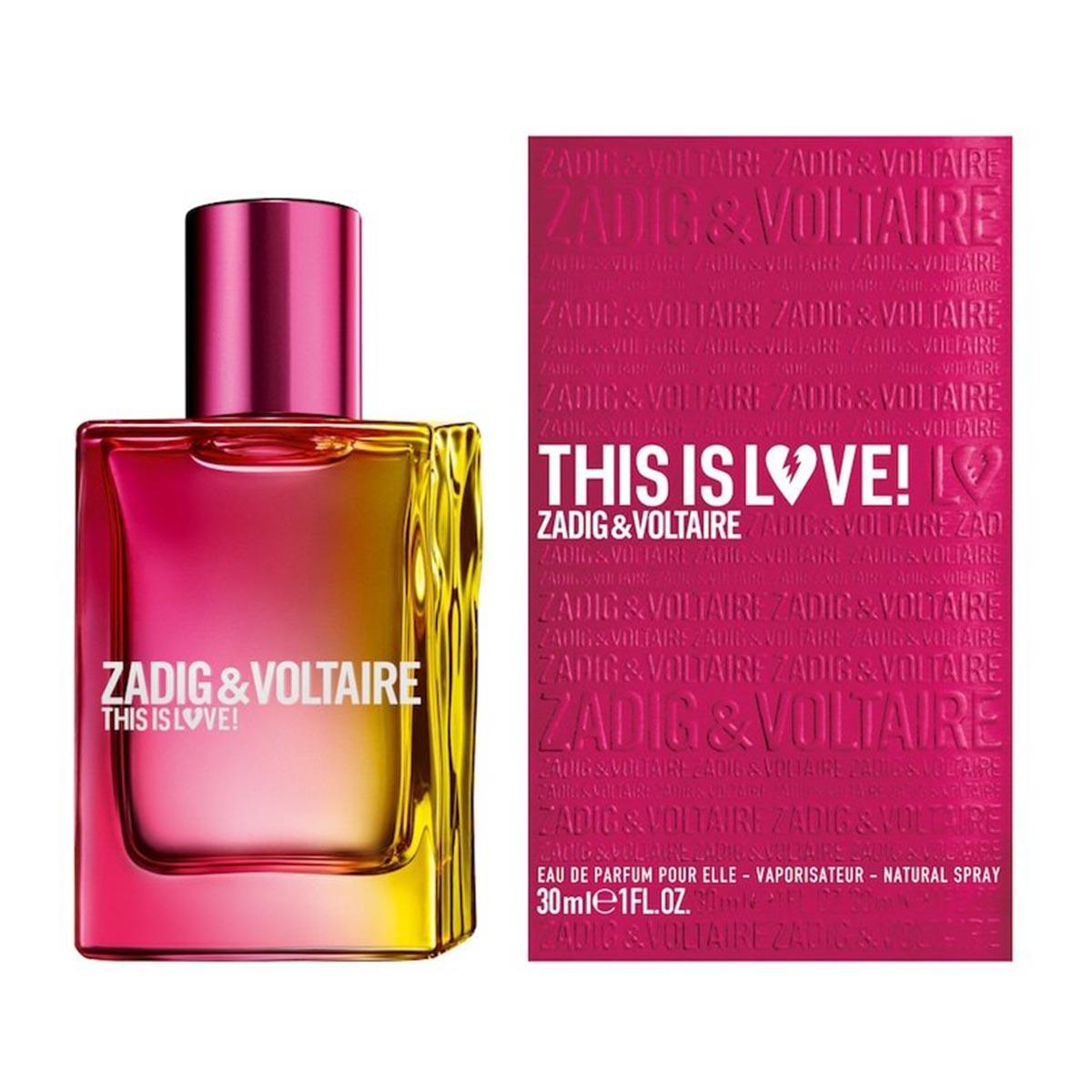 Zadig voltaire this is love elle edp 30vp - BellezaMagica.com