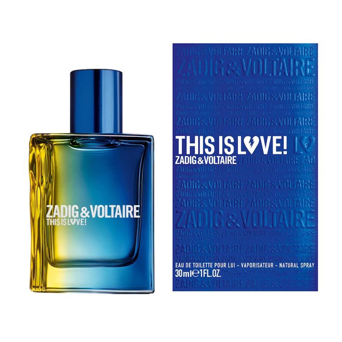 Zadig voltaire this is love him edt 30vp