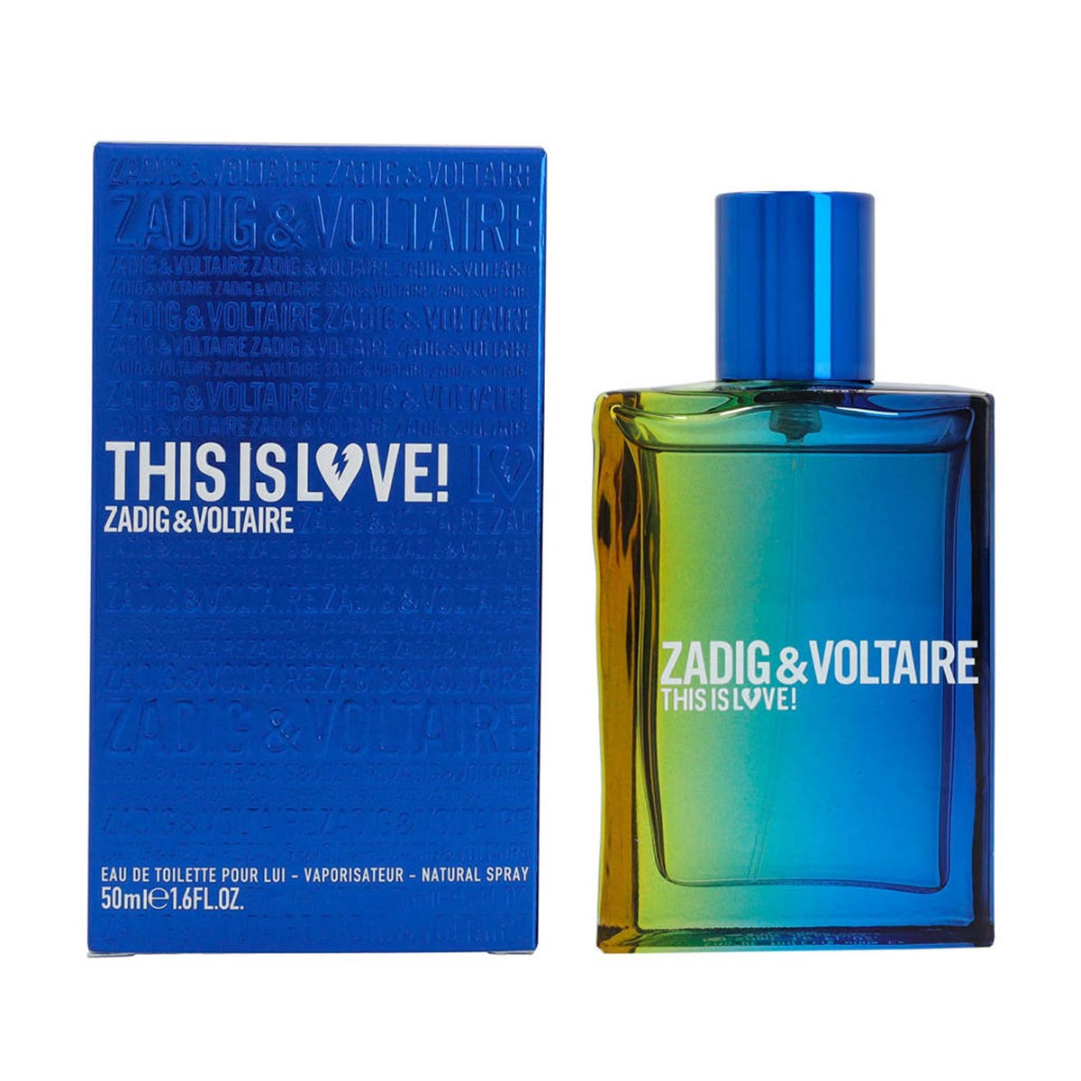Zadig voltaire this is love him edt 50vp