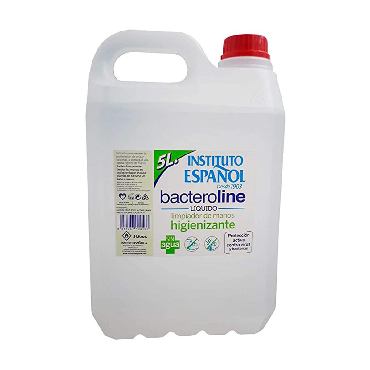Instituto espa ol bacteroline gel de manos 5000ml
